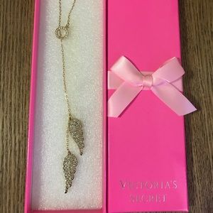 Victoria's Secret angel wings necklace